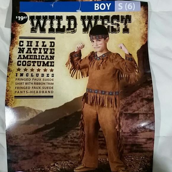 Fun World Native American Child Costume